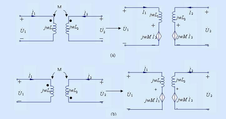 耦合电感的去耦等效电路